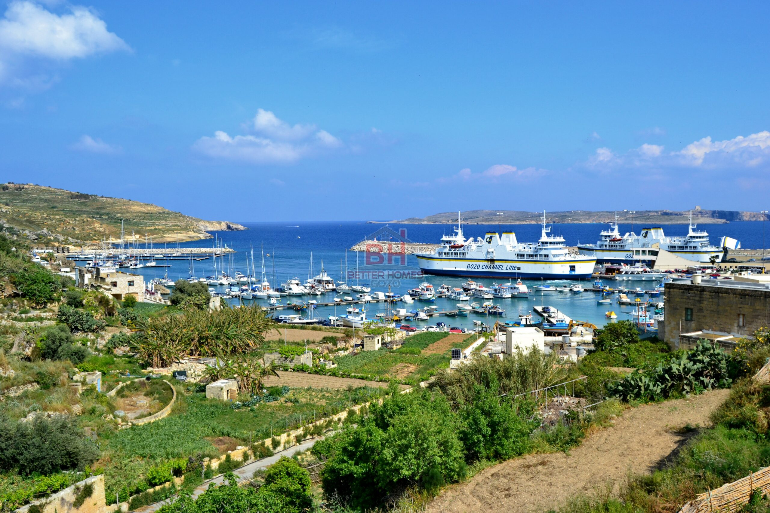 Ghajnsilem Gozo Affordable Development with Sea Views