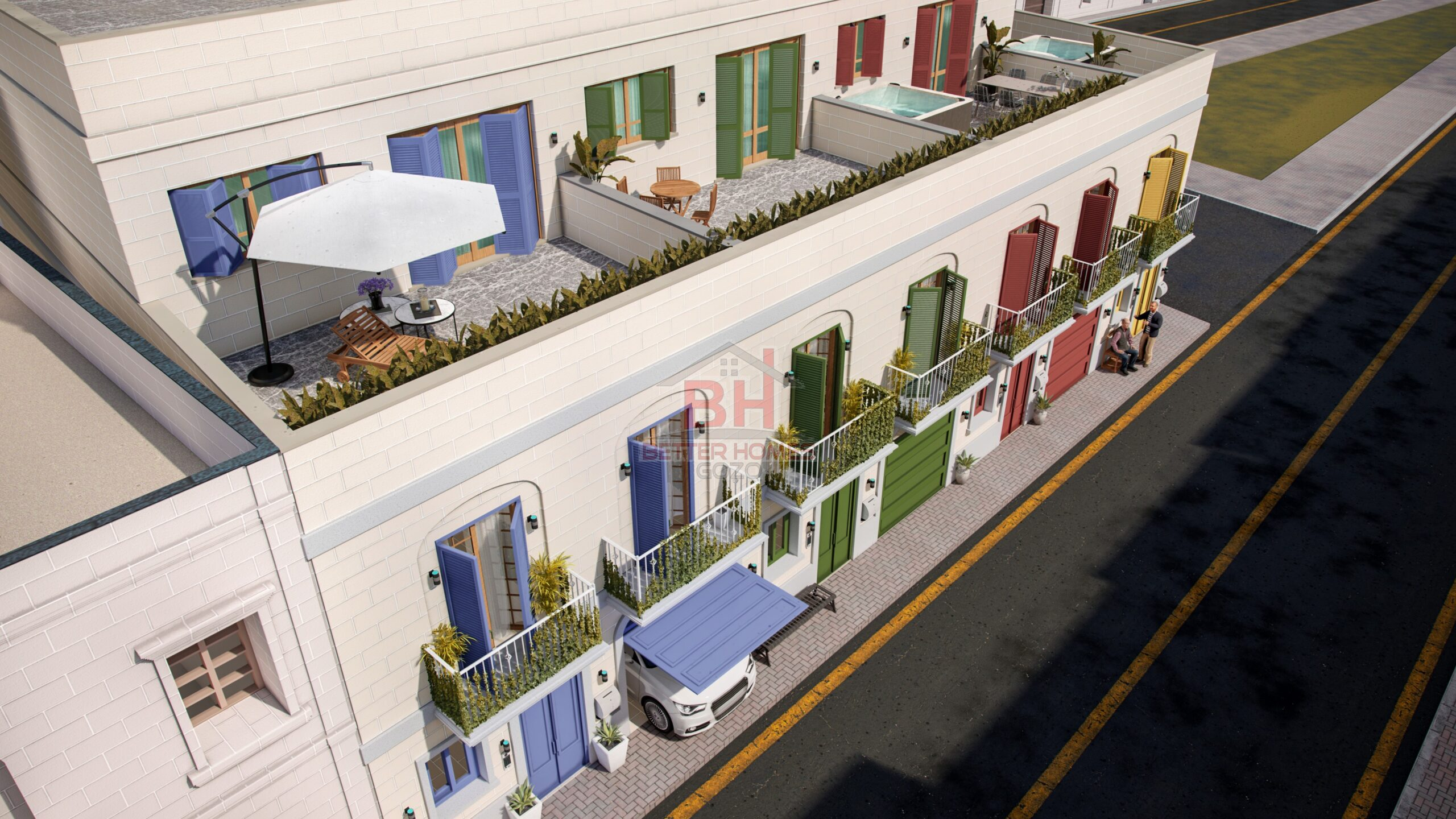 Gozo Xewkija Affordable Squarish Layout Plots or Houses